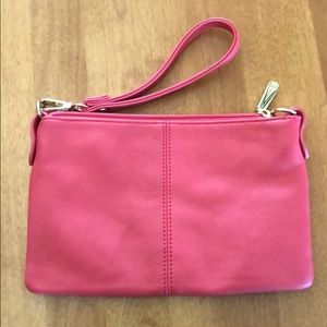 ⭐️2 FOR $15 Coral Charming Charlie Wristlet